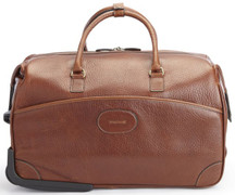 Korchmar Leather Wheeled Duffel
