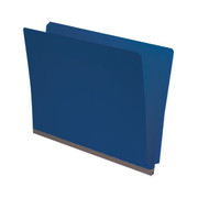 End Tab Pressboard Folder - Cobalt Blue