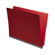 End Tab Pressboard Folder - Ruby Red - 1