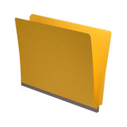 End Tab Pressboard Folder - Yellow - 3
