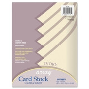 Pacon Array Printable Multipurpose Card - 2