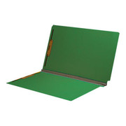 End Tab Pressboard Folder - Emerald Green - 2