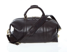 Korchmar Leather Duffel - Coffee
