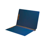 End Tab Pressboard Folder - Cobalt Blue - 2