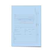 Redweld Tri-Fold U.S. Trademark Application Folder - Blue