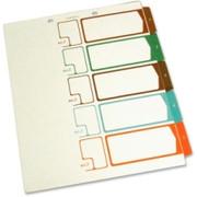 SJ Paper Side Tab TOC Divider