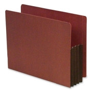 SJ Paper Expanding Red Rope File Pocket - 1