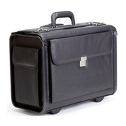 "Korchmar 19"" Wheeled Litigation Bag with End Pockets"