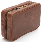 Korchmar Hanging Toiletry Case - Espresso