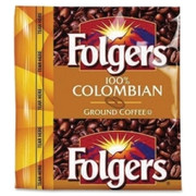 Folgers 100% Colombian Pouch Coffee Ground