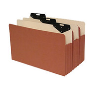 "Metal Tab File Pocket with 6.5"" Paper Gusset - Legal Size"
