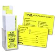 Tabbies Acrylic Emergency Information Card Display