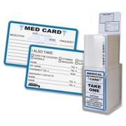 Tabbies Acrylic Emergency Information Card Display - 1