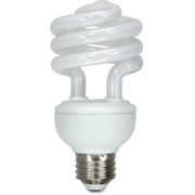 GE 20W Compact Fluorescent T3 Spiral Bulb
