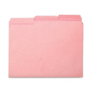 Smead 10263 Pink Interior File Folders