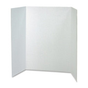 Pacon Spotlight White Headers Corrugated Presentation Board - 1