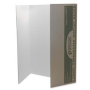 Pacon Spotlight Single-walled Tri-fold Presentation Board
