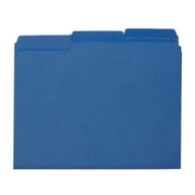Smead 10279 Navy Blue Interior File Folders