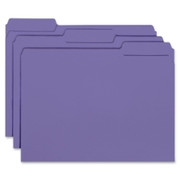 Smead 10283 Purple Interior File Folders