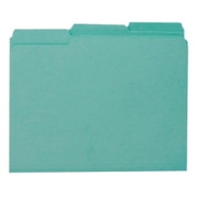 Smead 10291 Teal Interior File Folders