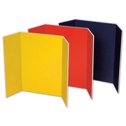 Pacon Tri Fold Foam Presentation Board - 1