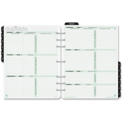 Day-Timer 2 Pages Per Week Reference Dated Calendar Pages - 1