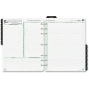 Day-Timer 2 Pages Daily Calendar Refill Pages - 1