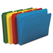 Smead 10500 Assortment Poly Colored File Folders
