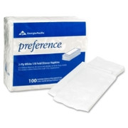 Georgia-Pacific Preference 1/8 Fold Paper Dinner Napkin