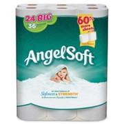 Angel Soft PS 24 Roll Bathroom Tissue - 1
