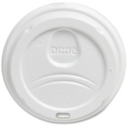 Dixie Foods Perfect Touch Cup White Plastic Lids