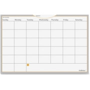 MeadWestvaco Wallmates Dry Erase Planning Surface