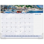 At-A-Glance Harbor Views Monthly Desk Pad Calendar