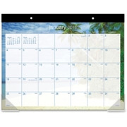 At-A-Glance Tropical Escape Desk Pad Calendar