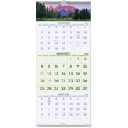 At-A-Glance Scenic 3-Months Per Page Panoramic Wall Calendar