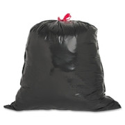 Genuine Joe Drawstring Trash Can Liner - 1