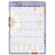 At-A-Glance Paper Flower Monthly Wall Calendar