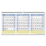 At-A-Glance 3 Months QuickNotes Horizontal Wall Calendar