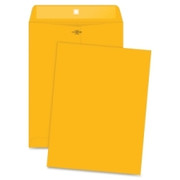 Business Source Heavy-Duty Clasp Envelope - 4