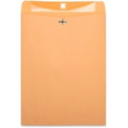 Business Source Heavy-Duty Clasp Envelope - 5