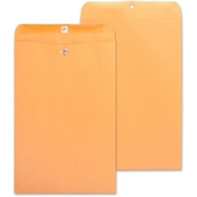 Business Source Heavy-Duty Clasp Envelope - 6