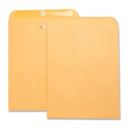 Business Source Heavy Duty Clasp Envelope - 6