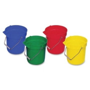 Genuine Joe 4-Pack 10 qt. Utility Buckets