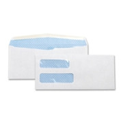 Business Source Double Window Envelope - 2