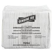 Genuine Joe White Lunch Napkins