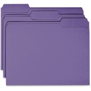 Business Source Colored File Folder - 1