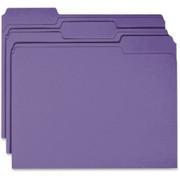 Business Source Colored File Folder - 1