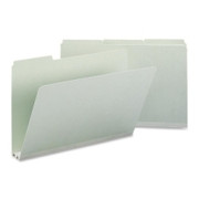 Smead 18234 Gray/Green Pressboard File Folders