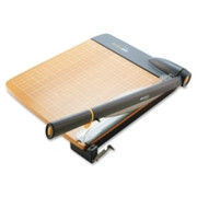 Acme United TrimAir Wood Guillotine Paper Trimmer