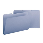 Smead 22530 Blue Colored Pressboard File Folders